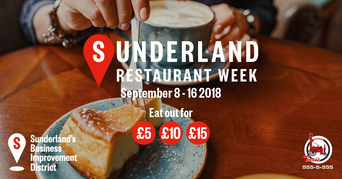 Sunderland Restaurant Week Returns Sunderland Bid