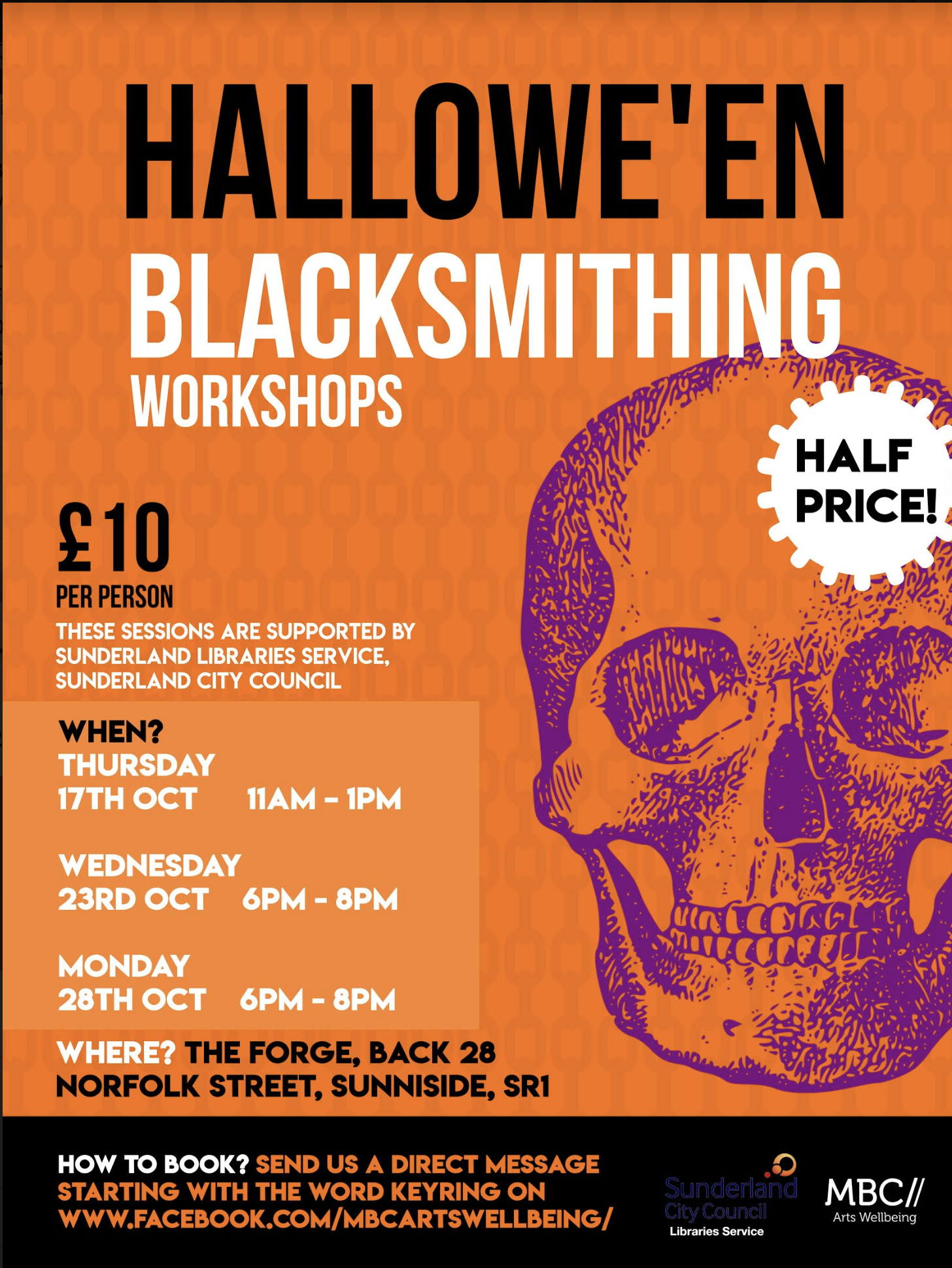 Halloween Blacksmithing