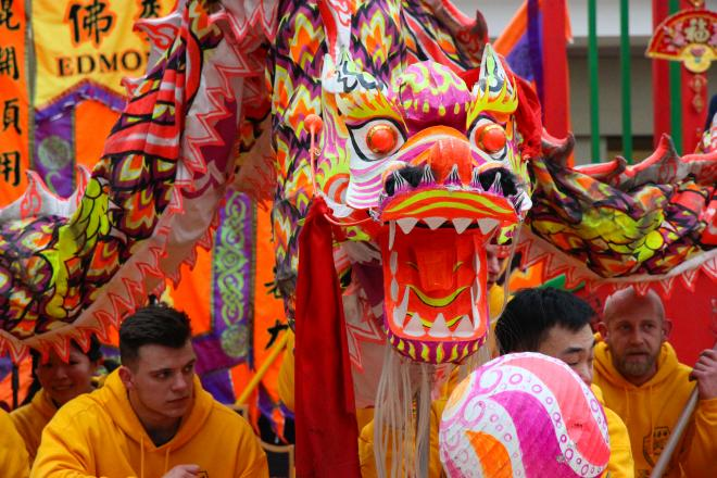 Chinese New Year celebrations in Sunderland