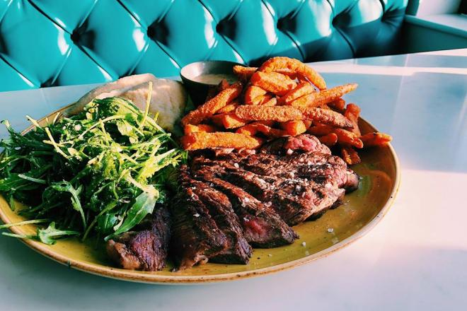 Steak and fries