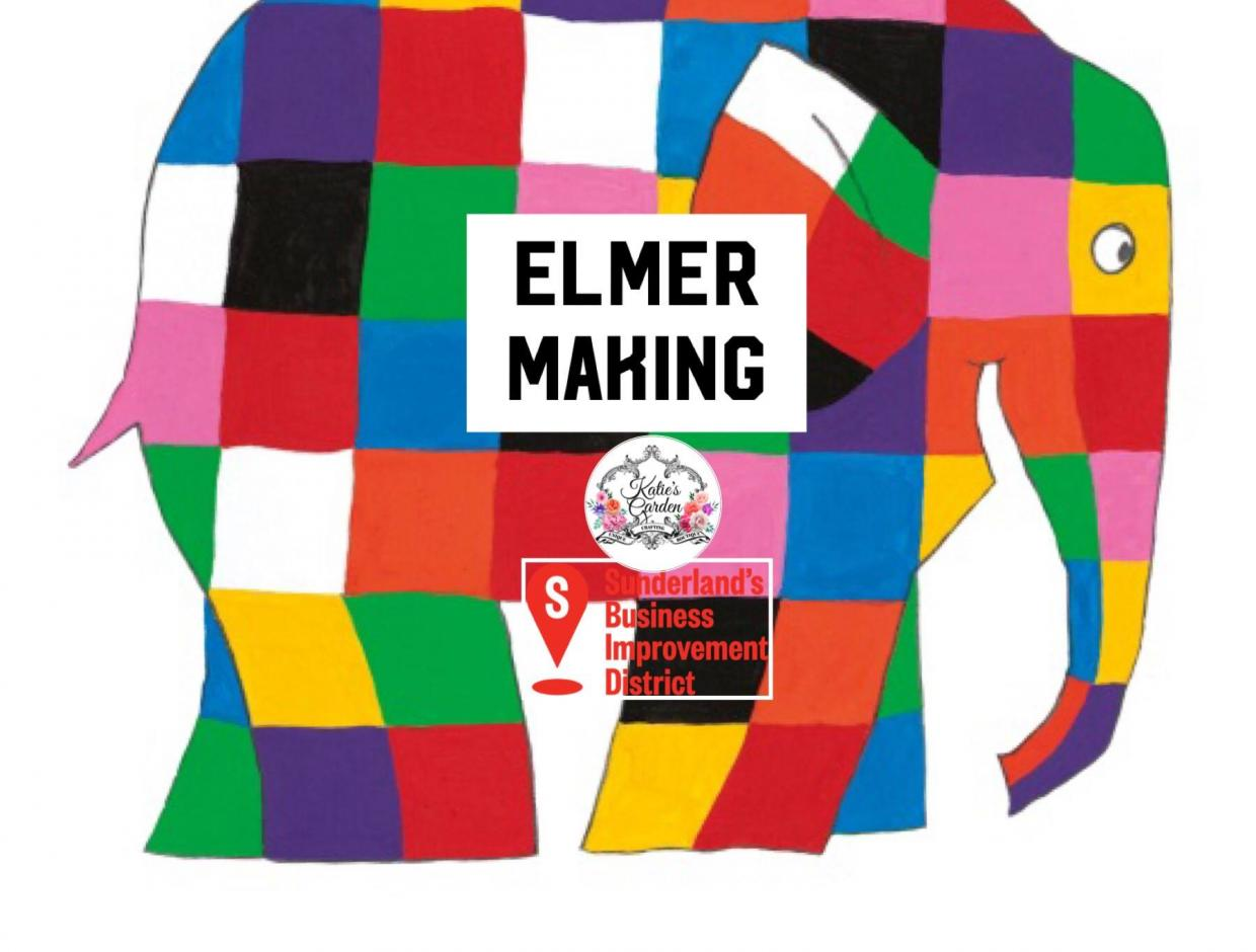 Elmer Making Poster