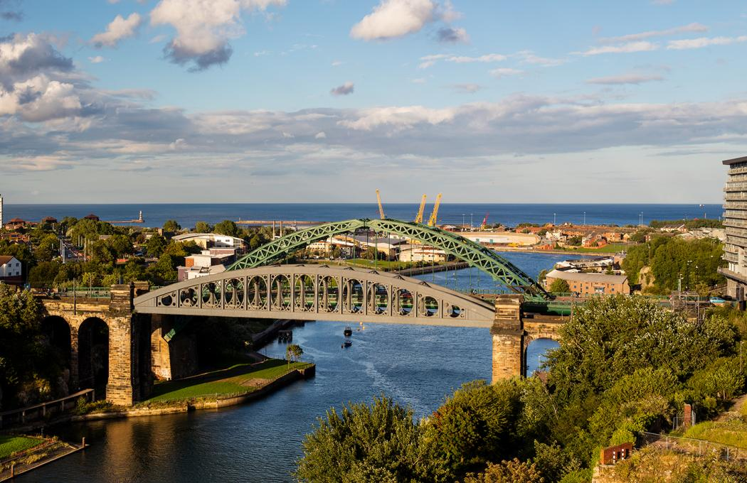 Wearmouth Bridge Sunderland